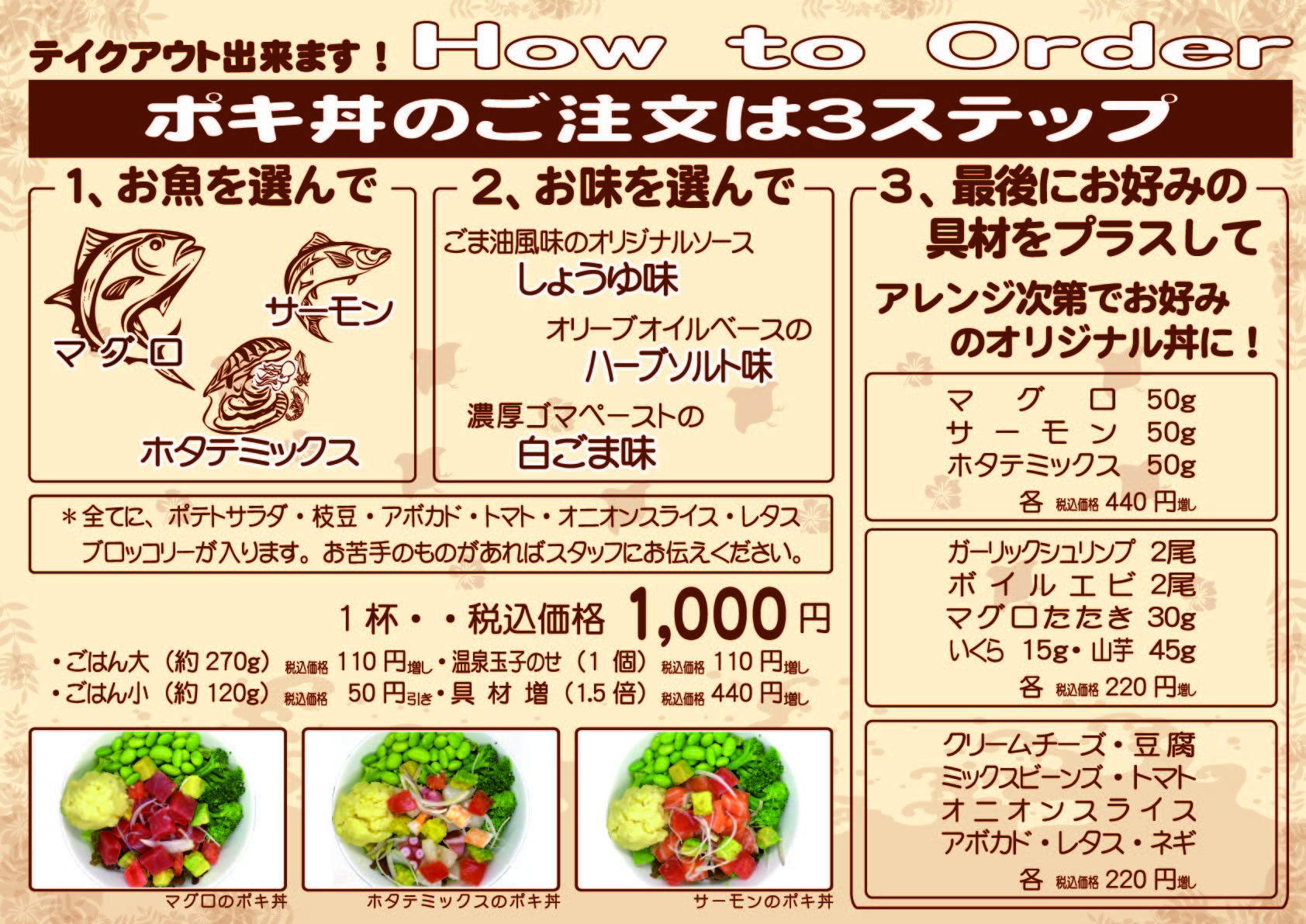 A2ポキ丼(Howto)